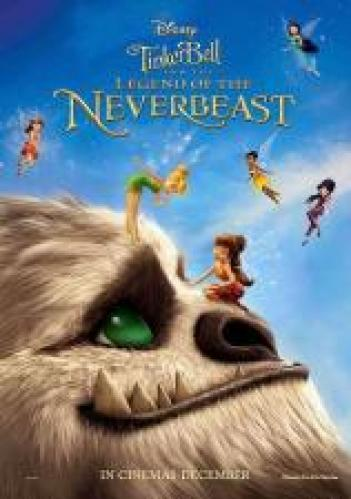 Tinker Bell and the Legend of the NeverBeast 2014 - BRRip - 720p AVI
