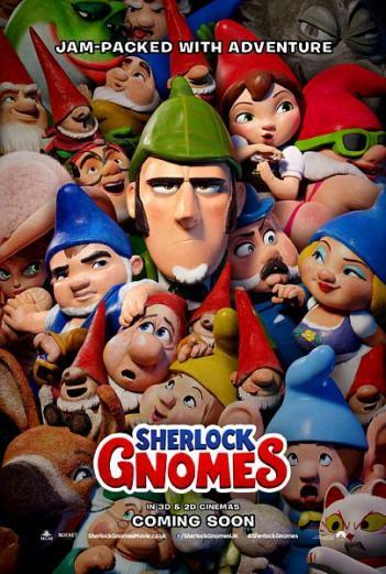 Sherlock Gnomes 2018 - BRRip - 720p AVI