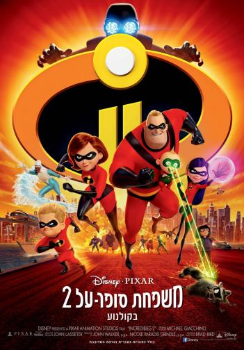 Incredibles 2 2018 - WEBDL - 720p - AVI