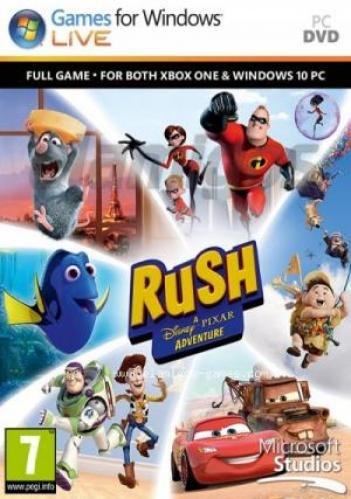 RUSH: A Disney PIXAR Adventure CODEX