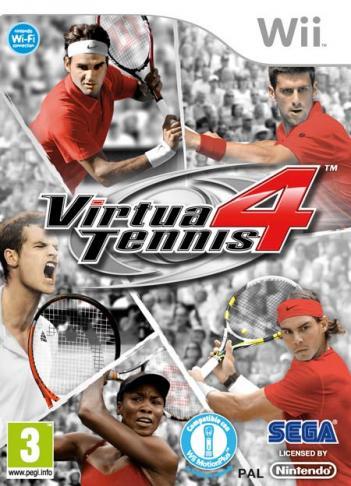 Virtua Tennis 4 2011 - SV4P8P-Wii