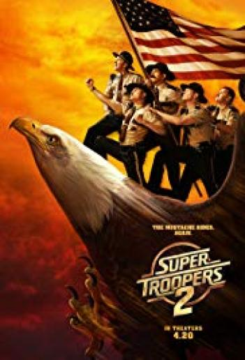 Super Troopers 2 2018 - BRRip - 720p AVI